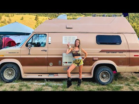 Solo Female Van Life Tour | Living Vanlife for 3 Years | What is it like?