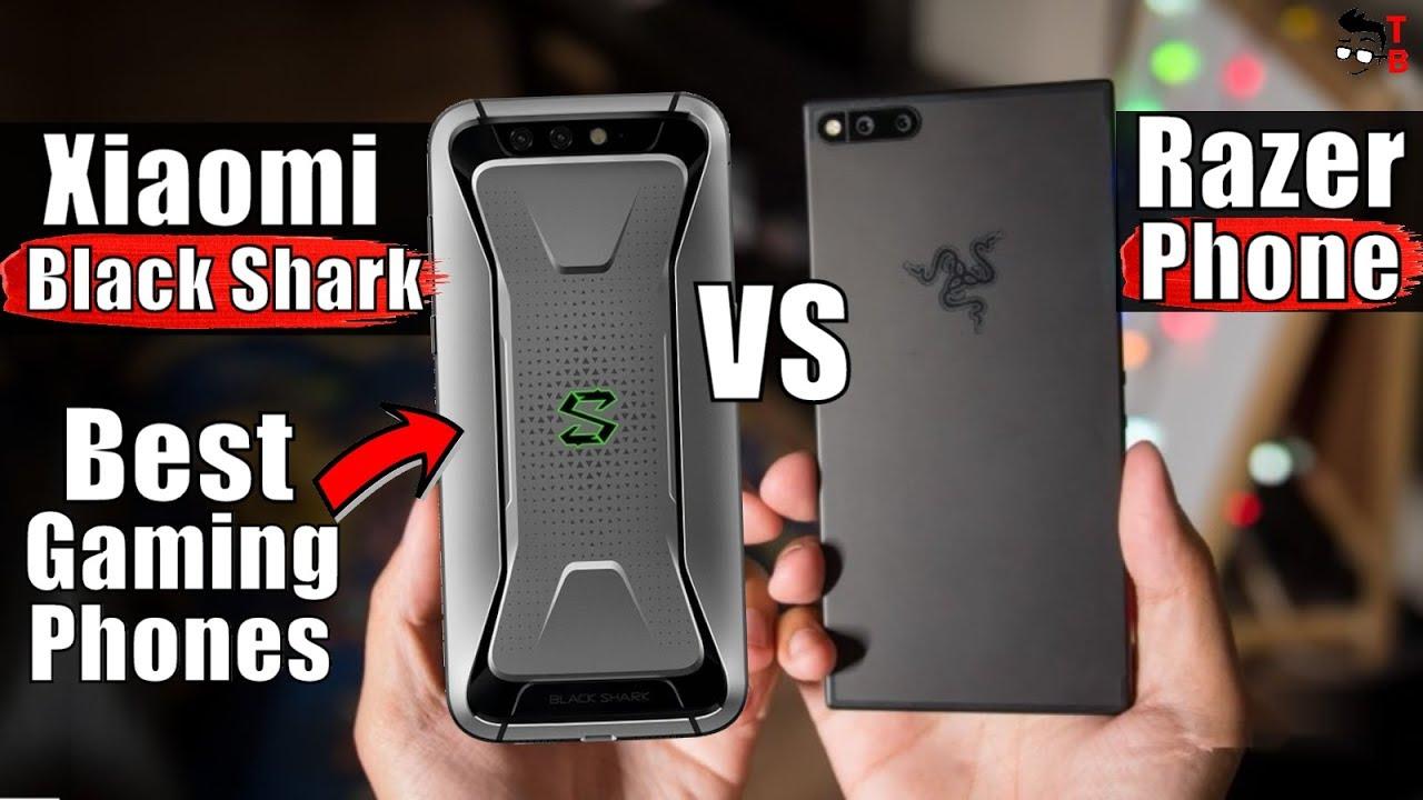 Xiaomi Black Shark vs Razer Phone: Compare Best Gaming Phones 2018