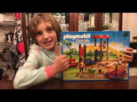 Unboxing and Review of Playmobil Playground