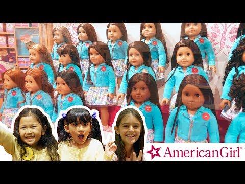 アメリカ女子の定番お人形!自分そっくりのお人形が見つかる☆アメリカンガールに行ったよ!☆アメリカ3日目④☆himawari-CH