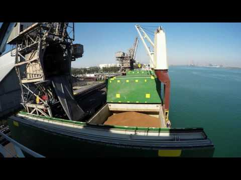 GoPro Hero 4  Work at sea 2016 720p | General cargo ship | Caribbean journey |