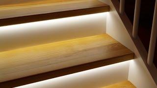 SMART LED trappebelysning - Lys der det trengs, når det trengs! (HD)