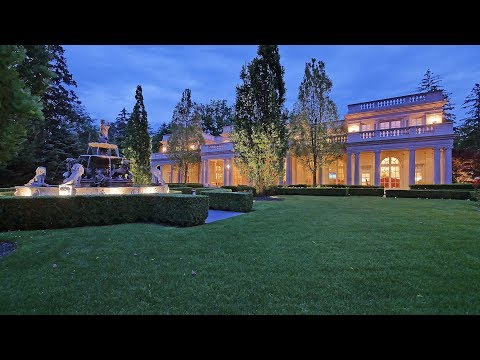 489 Lakeshore Road East, Oakville, Canada - The Magnificent Luxury Estate Canada