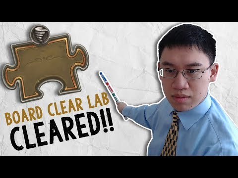 BOARD CLEAR LAB CLEARED!! Trump's Puzzle Quest #5 | The Boomsday Project | Hearthstone