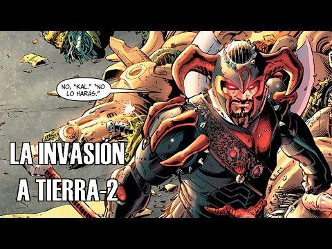 La Invasión de Steppenwolf - Cómic en Español - Earth 2 #1
