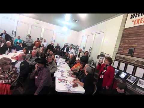Q&A GOP Grand Saline TX Rep Flynn & Ms. Chisholm 2