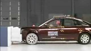 Crash Test 1999 - 2005 Audi A6 IIHS