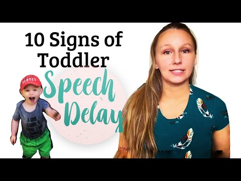 Signs of Toddler Speech Delay | Speech Delay in a 2 Year Old