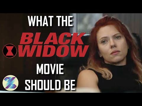 What the Black Widow Movie Should Be
