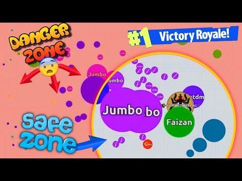 Agar.io - INSANE WIN IN NEW AGARIO BATTLE ROYALE Game Mode