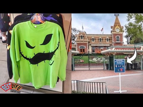 Disneyland & Downtown Disney Update: New Signs For Park Reopening? + New Oogie Boogie Merch & More!