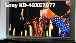 """4K телевизор """"Sony KD-49XE7077"""" - обманчивые ожидания."""