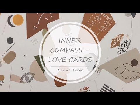 開箱  內在指引愛情神諭卡 • INNER COMPASS – LOVE CARDS // Nanna Tarot