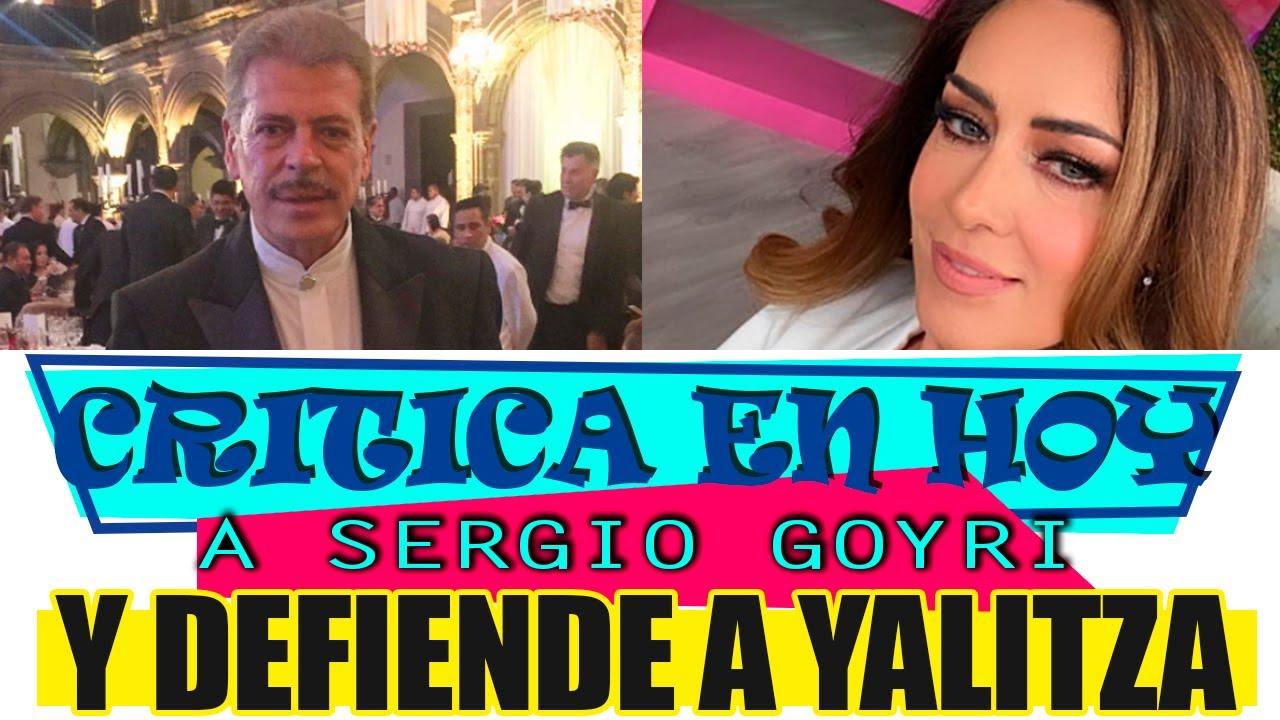 Anette Michel DEFIENDE A YALITZA APARICIO POR LAS NUEVAS DECLARACIONES DE SERGIO GOYRI.