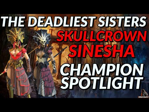 Sinesha & Skullcrown Champion Spotlight | Raid: Shadow Legends
