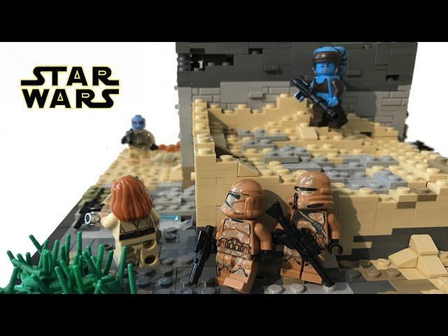 Lego Star Wars Moc/ Resistance on Miintra V