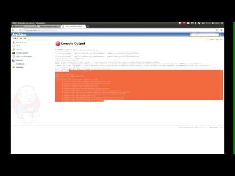 Gerrit, jenkins and sonar - video tutorial