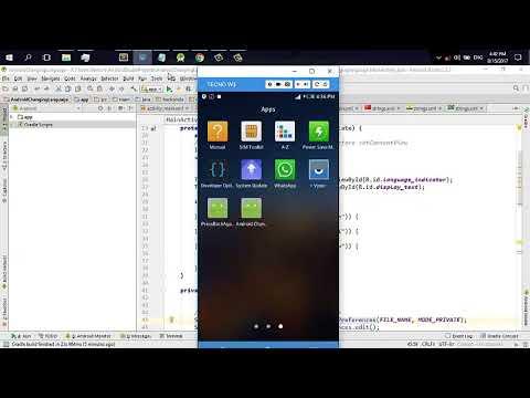 android oreo change language programmatically