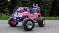 50HP Princess Jeep Hits The Streets