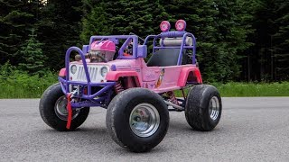 50HP Princess Jeep Hits The Streets