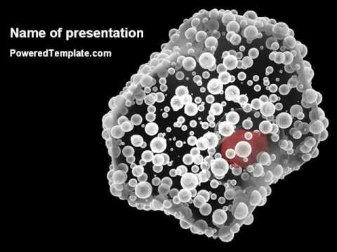 White Blood Cell Powerpoint Template By Poweredtemplate Youtube