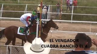 LA PRIETITA CUADRA LA HERRADURA VS EL VENGADOR CUADRA RANCHO EL CUATRO 200 VARAS