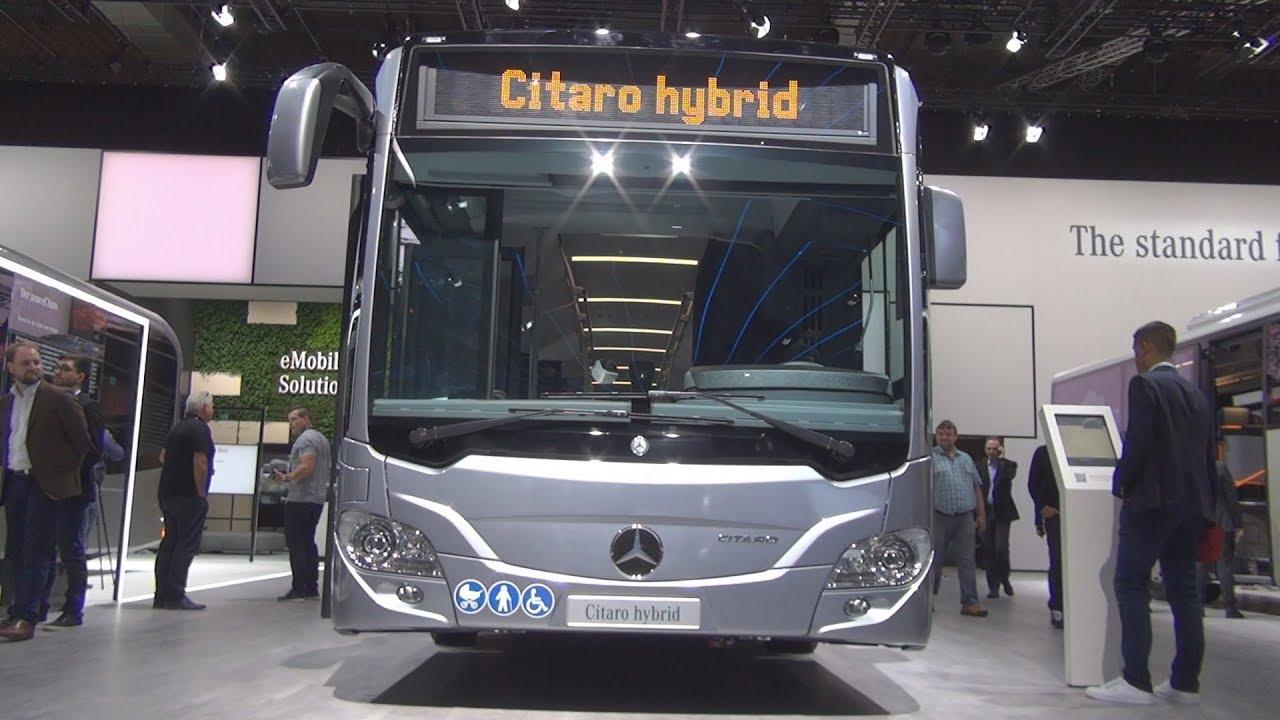 Diesel Engine Working >> Mercedes-Benz Citaro Hybrid Bus (2019) Exterior and ...
