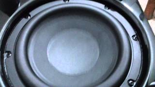 Harman kardon subwoofer test excursion.