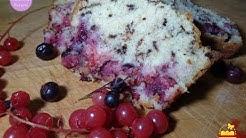 """Schwarze & Rote Johannisbeeren Kuchen"" fruchtig selbst gebacken."