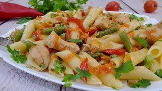 Вкусная идея для обеда или ужина  - просто и вкусно