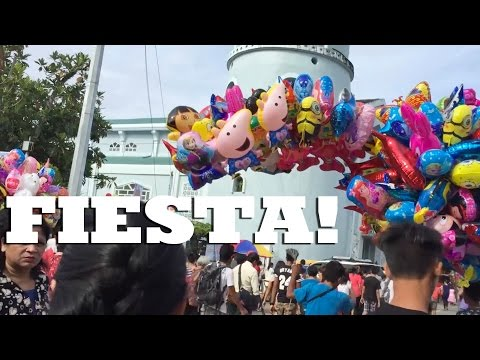 MY FIRST FIESTA IN BORONGAN || Food for Days