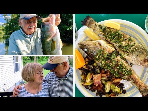 Fishing For Whole Grilled Bass (a Low-carb Meal With A Whole Lot Of Class)