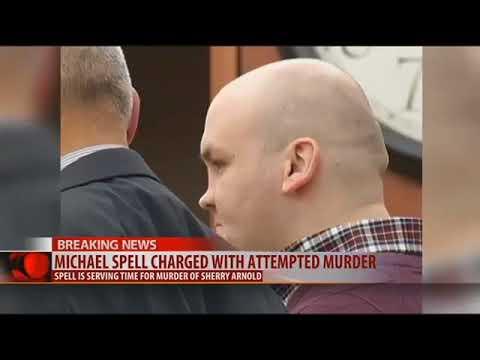 Michael Spell, killer of Sidney school teacher, allegedly tried to kill fellow inmate