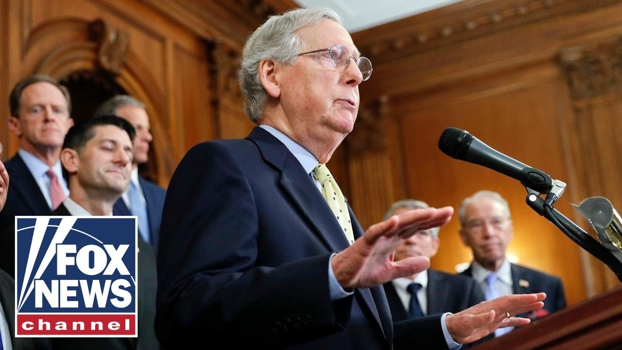 McConnell sounds off on Senate Dems for politicizing coronavirus relief