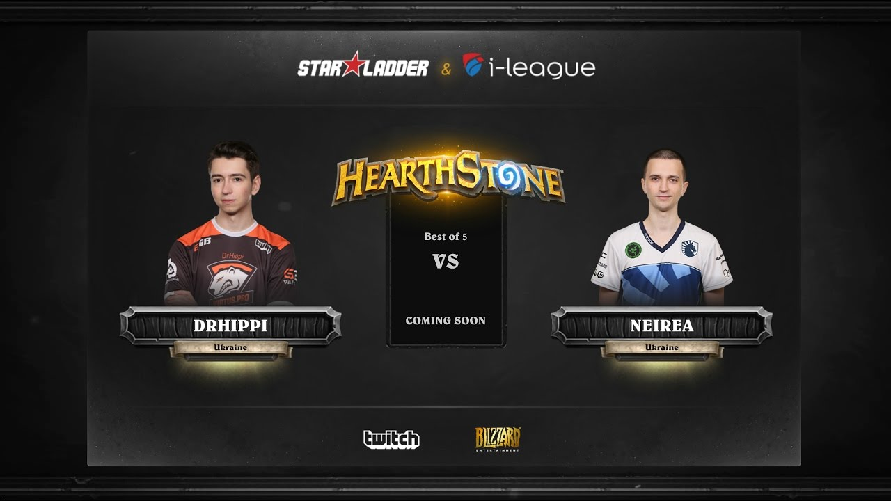 [RU] DrHippi vs Neirea | SL i-League Hearthstone StarSeries Season 3 (13.05.2017)
