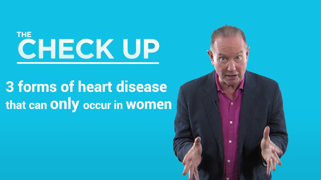 3 Forms Of Heart Disease That Only Affect Women The Check Up Youtube