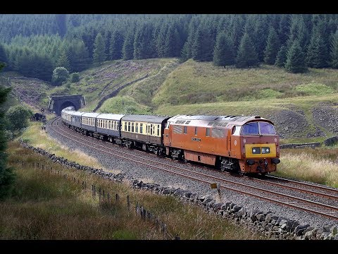 D1015 WESTERN CHAMPION AT BLEA MOOR TUNNEL WITH THE WESTERN HEIGHTS CHARTER - 3rd September 2005