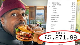 Ordering The Entire Menu At London's Most Expensive Hotel