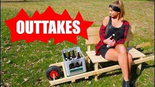 Outtakes zur Bierkasten - Schubkarre  #Vatertagprojekt