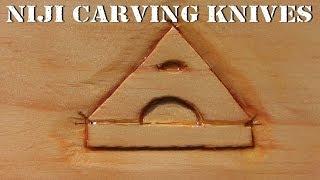 Niji Wood Carving Knives And The Artisan Logo