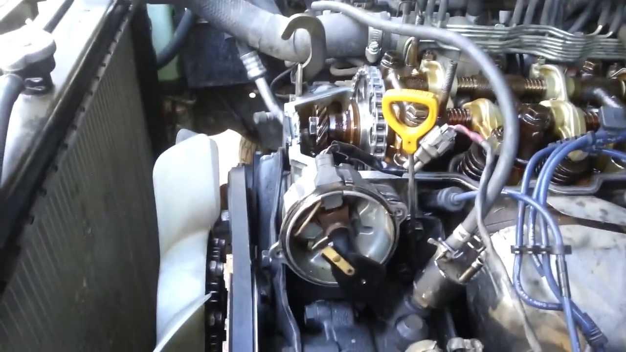 93 Toyota 3vze Timing Belt Tensioner