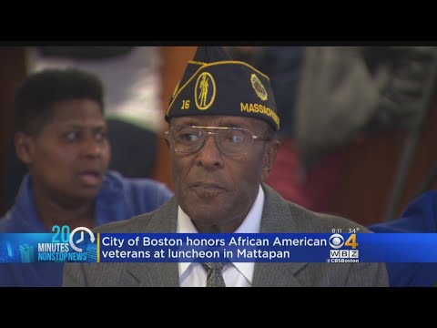 Boston Mayor Honors New England's African American Veterans