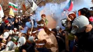 Пърформанс на студентите пред НС 20.11.2013  offnews.bg