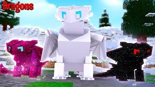 CAN WE SAVE THE NIGHTFURY FAMILY?! - Minecraft Dragons