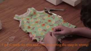 Brindille & Twig Tank Top Romper Sew-A-Long Part 4