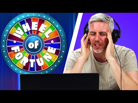 Irish People Watch Wheel Of Fortune