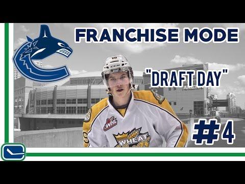 2017 NHL Draft- NHL 17 - GM Mode Commentary - Canucks Ep. 4