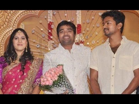 Ilayathalapathy Vijay Thala Ajith Suriya At Shiva Wedding Reception