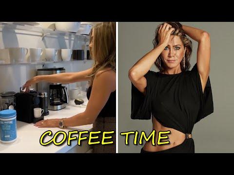 jennifer Aniston | Coffe+Me = Happygirl