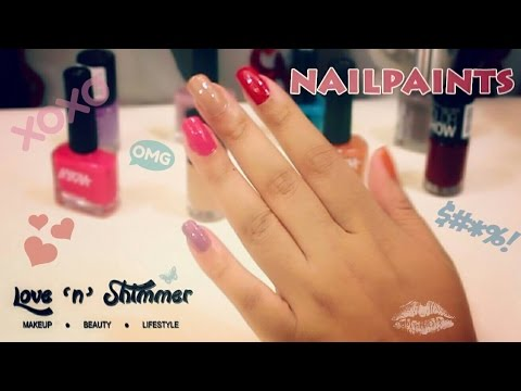 Nail paints for Indian Skintone!!